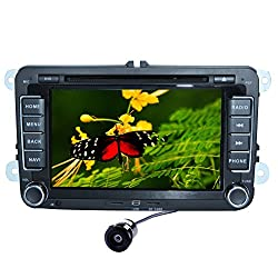 See Pupug Capacitive Android 4.2 Car DVD Player GPS HeadUnit For VW Golf Passat CC MK5 EOS 7 Inch Details