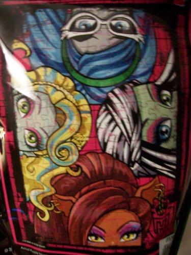 Monster High 150 Piece Puzzle in a Bag ~ Hide 'n Peek