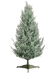 2' Snowy Sprinkles Forest Green Pine Artificial Christmas Tree - Unlit by Allstate