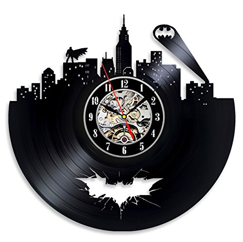 Batman Vinyl Wall Record Home Room Art Vintage Modern Decoration