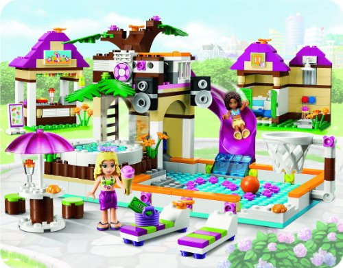 Lego friends la piscina de heartlake city 41008 your for Piscina lego friends