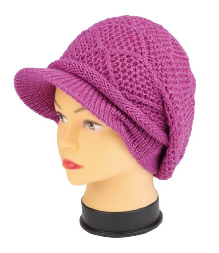 Strickmütze Mütze LONG BEANIE Slouch RASTA Style KH103MIX, PINK