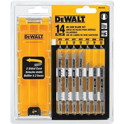 DEWALT DW3742C 14-Piece T-Shank Jig Saw Blade Set with Case from DEWALT