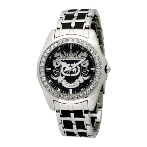 Marc Ecko Men's E95016G7 Black Dial Bracelet Watch