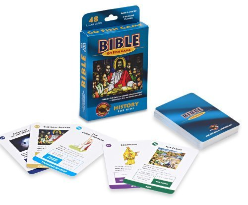 Geotoys The Classical Historian Bible Go Fish Game