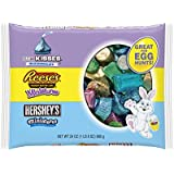 Hershey's Easter Assortment (Hershey's Kisses, Reese's Miniatures, and Hershey's Miniatures), 24-Ounce Bags (Pack of 2)