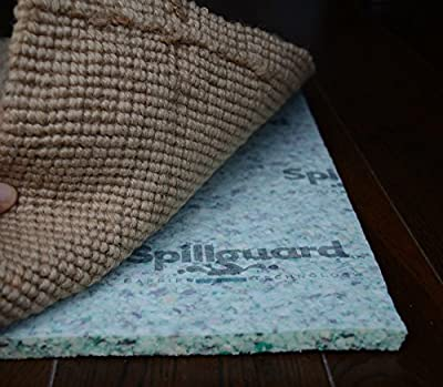 """Spillguard Resistant Rug Pad 1/2"""" Thick Rebond - Multiple Sizes"""