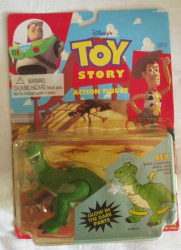 Toy Story Rex Action Figure - 1