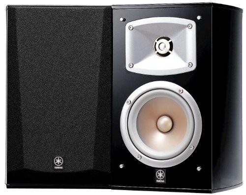 Yamaha-NS-333-Regal-Lautsprecher-System-2-Wege-Bassreflex-akustische-Aufhngung-60W-klavierlackschwarz