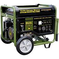 Sportsman GEN7500DF 7500 Watt Dual Fuel (Hybrid) Portable Generator