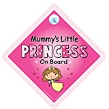 Mummy's Little Princess On Board Car Sign, Mummy's Little Princess, Mummy's Little Princess On Board, Baby on Board Sign, Baby On Board, baby on board, Maternity Gift, Baby Shower Gift, Princess On Board Car Sign, Princess Signby iwantthatsign.com