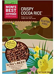 Mom Brands Cereals, Crispy Cocoa Rice, 13.0 Ounce (Pack of 12)