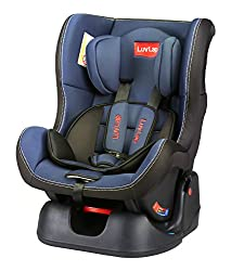 LuvLap Sports Convertible Baby Car Seat. Suitable for 0- 4 year Baby (0-18 kgs) - Blue