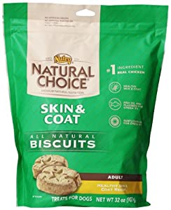 Natural Choice Dog All Natural Healthy Skin and Coat Biscuits, 32-Ounce