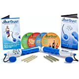 JumpSnap, The Ropeless Jump Rope - Calorie Counter, (4) Cardio Pumping DVD Workouts & Hand Weights