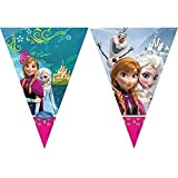 Official Disney Frozen Plastic Triangle style Bunting / Banner