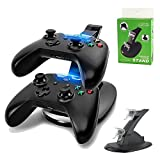 Megadream® LED USB Dual Charger Controller Stand Charging Charge Dock Stand For Microsoft X-BOX ONE Controller...