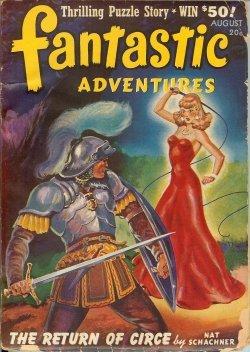 Fantastic Adventures: August, Aug. 1941