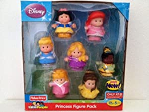 Little People Disney Princess Figure Pack from Fisher Price