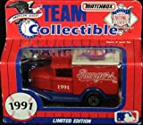 Texas Rangers 1991 Matchbox MLB Diecast Ford Model A Truck White Rose Collectible Toy Car 1:64 Scale