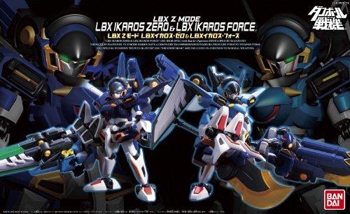 ダンボール戦機W(ダブル) LBX Zモード LBX イカロス・ゼロ&イカロス・フォース