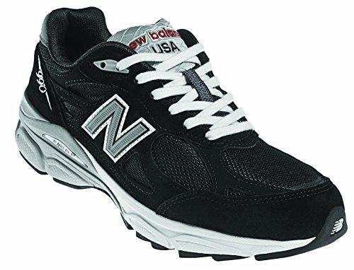 New Balance Women's W990 Running Shoe,Black,7.5 D US