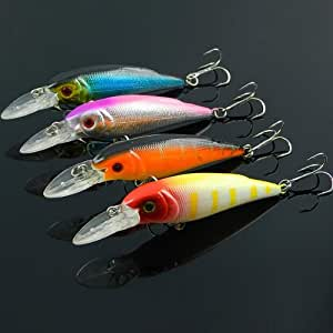 Biomimic minnow fishing lure bass hard bait for Amazon fishing lures
