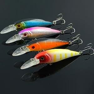 Biomimic minnow fishing lure bass hard bait for Amazon fishing gear