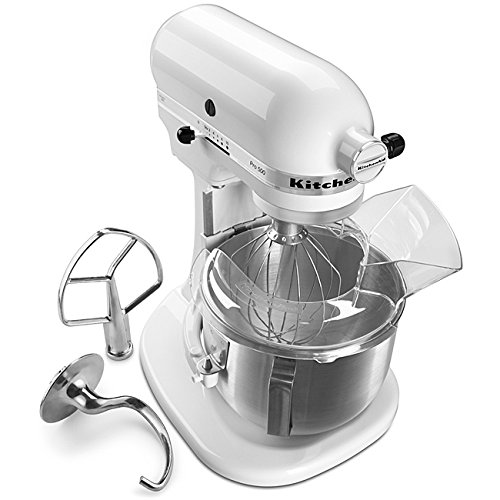 KitchenAid KSM500PSWH Pro 500 Series 10-Speed 5-Quart Stand Mixer, White (Metal Kitchenaid Beater compare prices)
