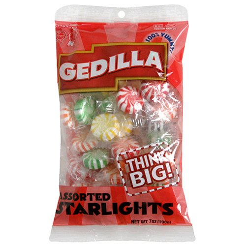 Buy Gedilla Peg Candy, Starlights Assorted, 7 Ounce (Pack of 24) (Gedilla, Health & Personal Care, Products, Food & Snacks, Snacks Cookies & Candy, Candy)