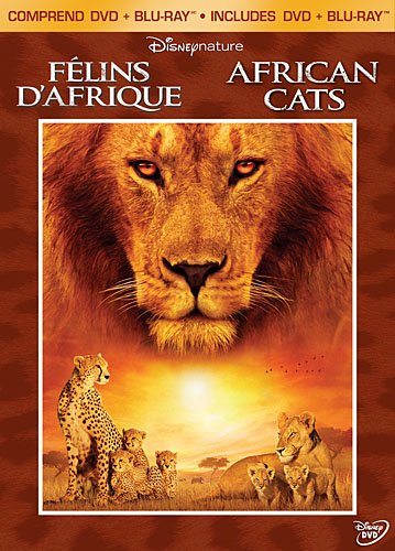 Disneynature: African Cats - 2-Disc DVD Bilingue Combo Pack (BD+DVD) [Blu-ray]