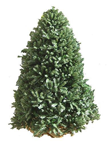 Albero alberi di natale artificiale molto folto fitto 3223 rami H cm 280 Ø 190