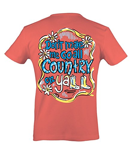 Itsa Country Y'All - Ladies X-Large Tee