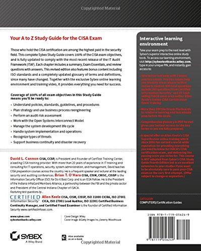 CISA ExamFOCUS Study Notes & Review Questions 2016 (No ...