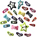 PET SHOW Cute Mixed Design Small Snap Daily Hair Clips Pet Grooming Products Dog Cat Puppy Hair Accessories Random Color Pack of 20