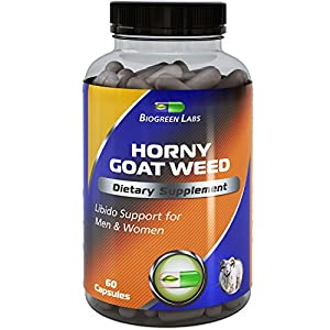 Horny Goat Weed Complex [] 1000 mg Pure Horny Goat Weed Extract with Tongkat Ali Root Powder [] 100% Pure and Natural Maca Root Extract [] Pharmaceutical Grade Maca Root Powder [] Effective and Potent Herbal Supplement for Increased Stamina [] Rapid Relea