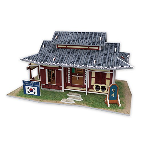 W3159h Cubicfun Cubic FUN 3d Puzzle Model 45pcs Korean Kimchi House - 1