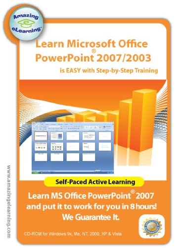 Microsoft Office PowerPoint 2007/2003 Step-by-Step Training CD course