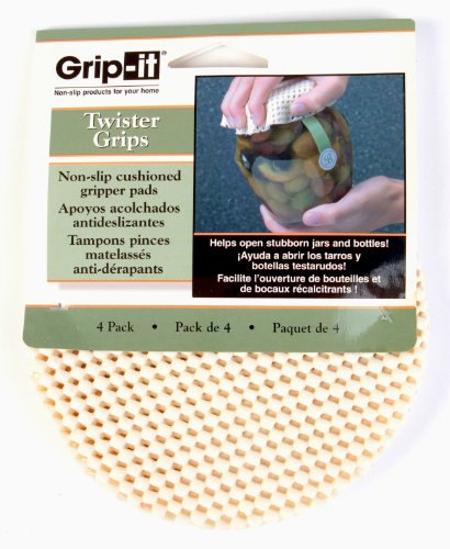 MSM Industries Grip-It Twister Grips, Set of 4, 144-pack