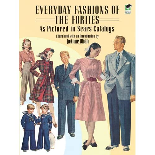 Everyday fashions of the 1940s