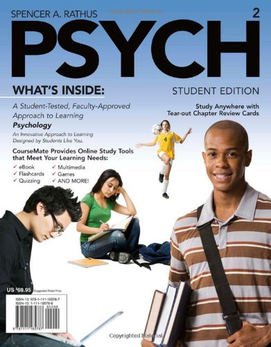 PSYCH (with Review Cards, CourseMate Printed Access Card)...