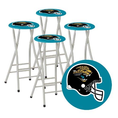 Best Of Times Nfl Bar Stools Jacksonville Jaguars Set Of