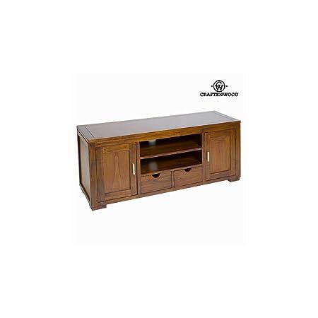 Mesa de tv forest 2 puertas - Colección Chocolate by Craften Wood