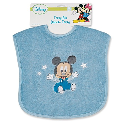 Mickey Mouse Deluxe Terrycloth Bib