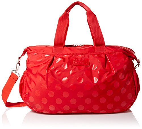 stellakim-by-perry-mackin-olivia-water-resistant-nylon-diaper-tote-red