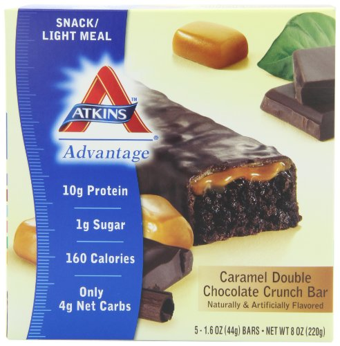 Atkins Caramel Double Chocolate Crunch Bar Amazon