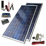 Sunforce 39626 160-Watt High-Efficiency Polycrystalline Solar Power Kit