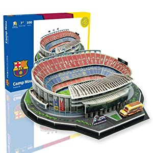 Nanostad - Estadio Camp Nou, puzzle 3D
