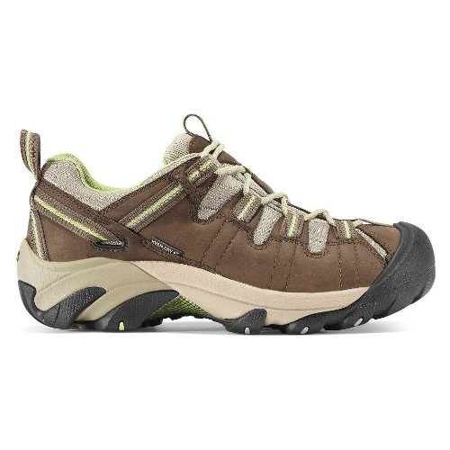 KEEN Targhee ll Hiking Shoe - Women's Chocolate Chip/Sap Green, 7.5