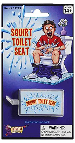 Squirt Toilet Seat Novelty Toy - 1